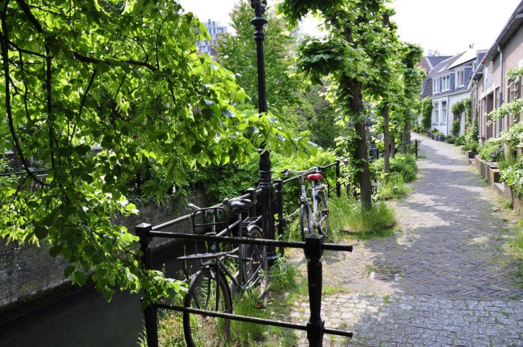 Groen straatje, Keizersgracht in Utrecht